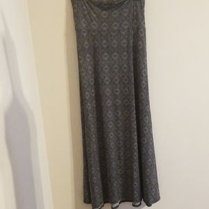 LulaRoe Plus Size Maxi Skirt New With Tags